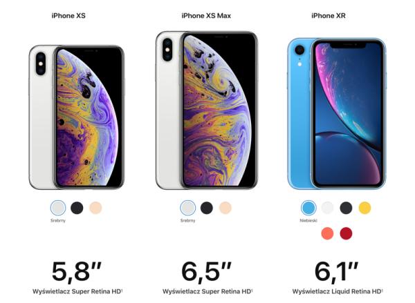 iPhone Xs, Xs Max, Xr oraz Apple Watch Series 4 – wszystko co musisz wiedzieć