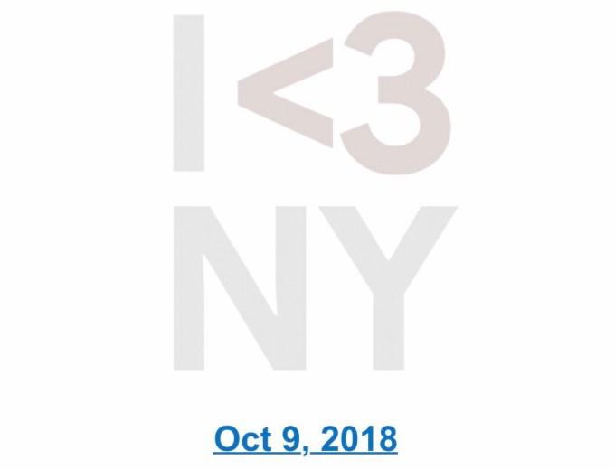 Konferencja Google'a #madebygoogle (9 października 2018)