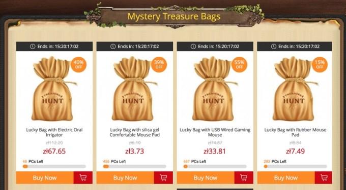 Mystery Treasure Bags (GearBest)