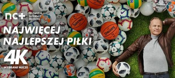 Nowa piłkarska kampania reklamowa platformy nc+