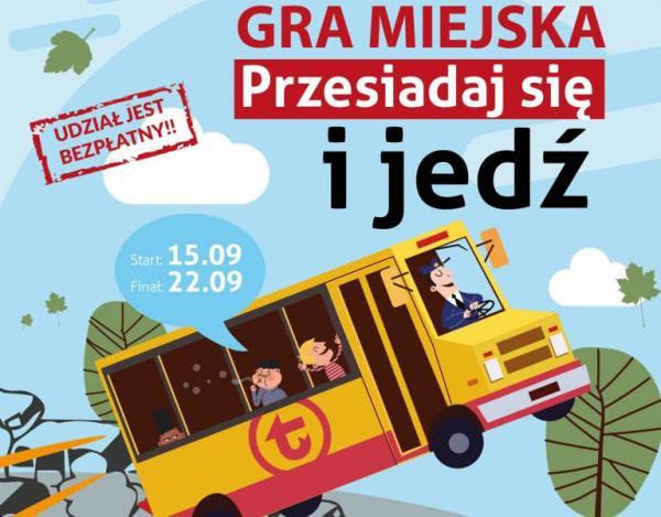 """ZTM organizuje grę miejską """"Przesiadaj się i jedź"""" w Warszawie"""