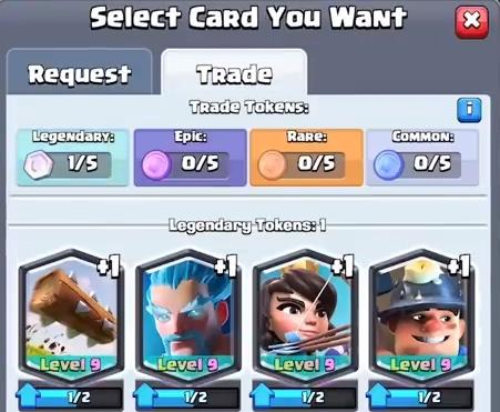 Trade tokens (rodzaje)