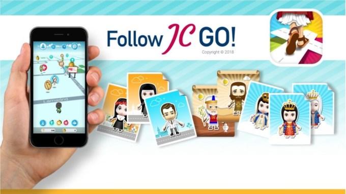 Gra mobilna Follow JC Go