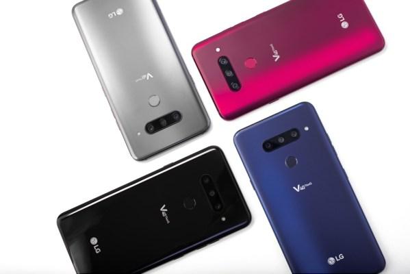 Nowy smartfon LG V40 ThinQ oraz hybrydowy LG Watch W7