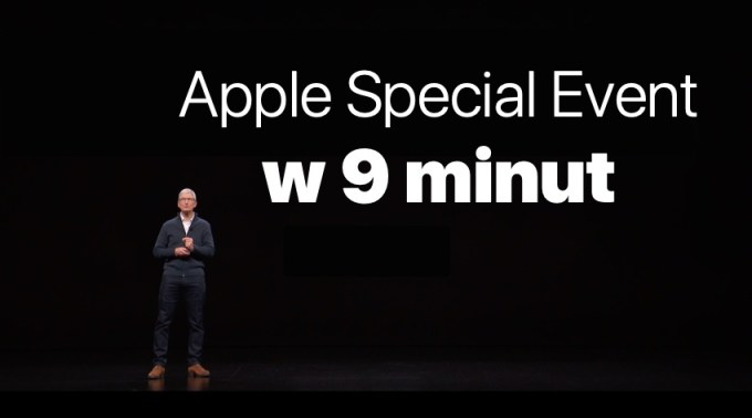 Apple Special Event w 9 minut (skrót)
