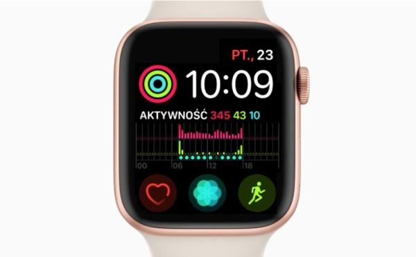 Błąd zmiany czasu na Apple Watch Series 4 może dotknąć mieszkańców Europy
