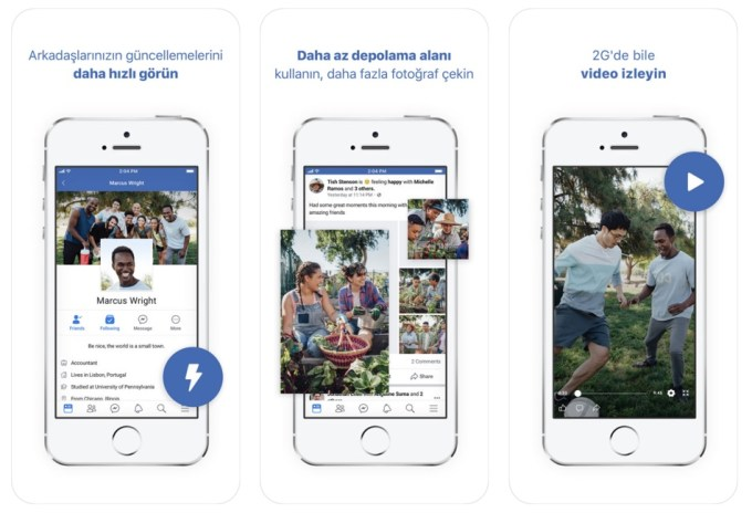 Facebook Lite for iOS