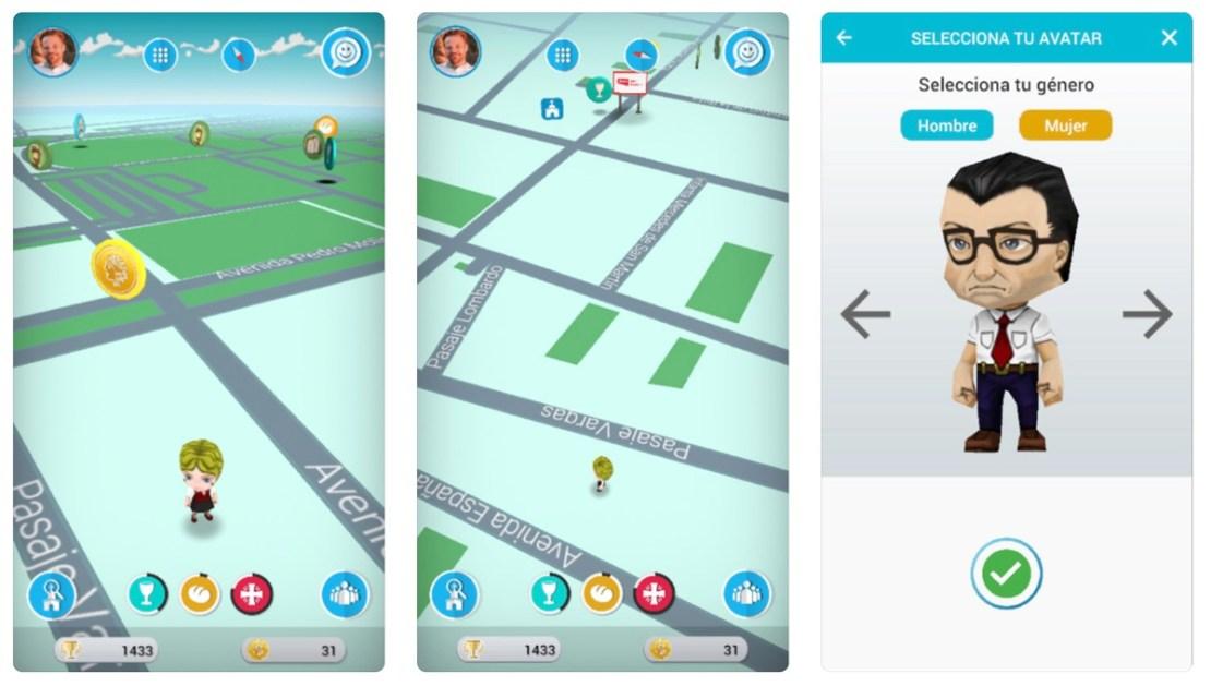 Zrzuty ekranu z gry Follow JC Go