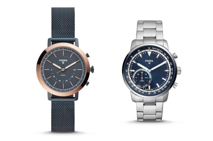 Hybrydowe smartwatche od Fossil i Citizen