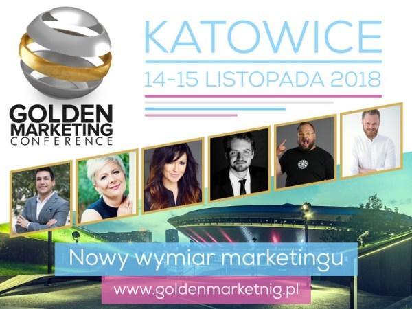 Nowy wymiar marketingu już 14 -15 listopada w Katowicach