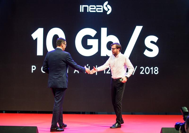 Internet o prędkości 10 Gb/s w INEA