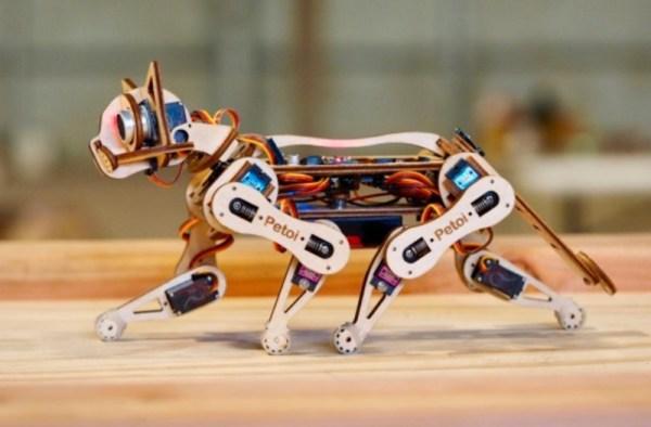 Oto Nybble kot-robot z otwartym kodem źródłowym