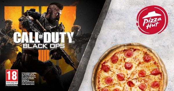 Pizza Hut karmi graczy i rozdaje kody do nowej gry z serii Call of Duty!
