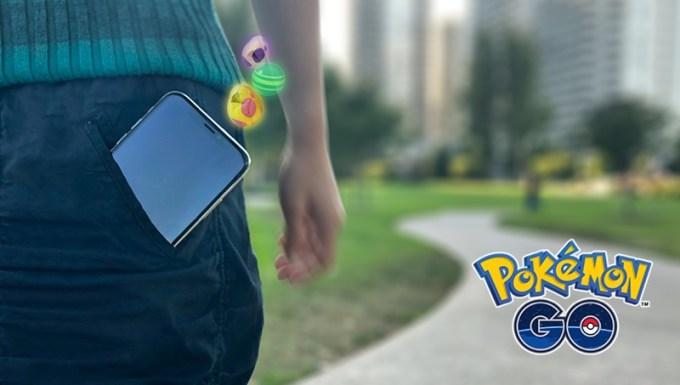 Pokemon GO - synchronizacja danych aktywności