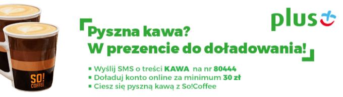 Promocja Kawa za doładowanie w PLusie na kartę (2018)