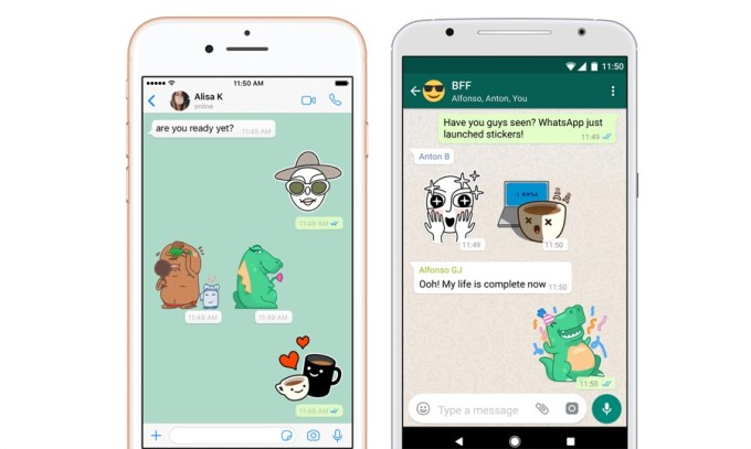 WhatsApp Stickers (screen)