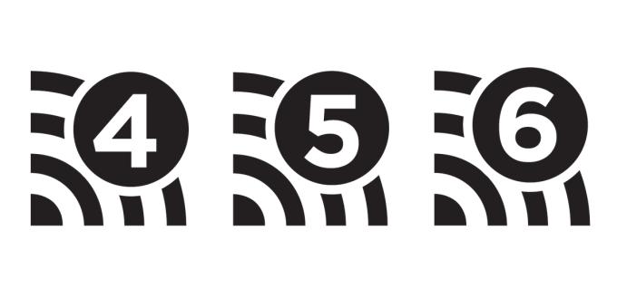 Wi-Fi 4, Wi-Fi 5, Wi-Fi 6 (logotypy