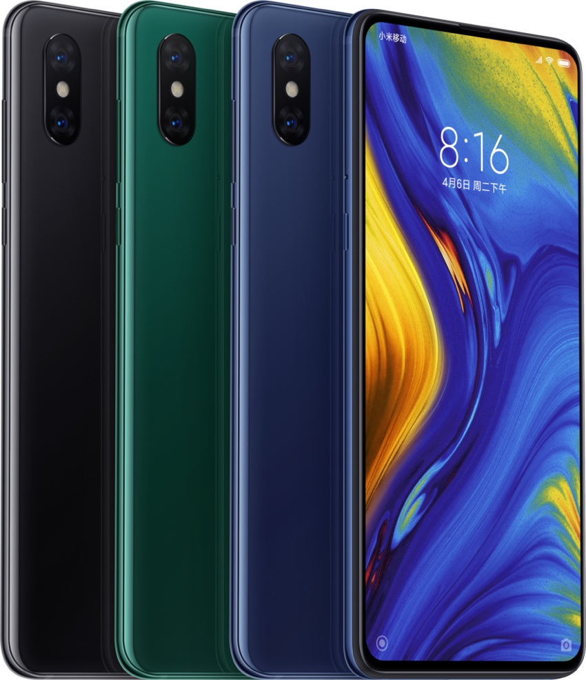 Xiaomi Mi MIX 3 (kolory)