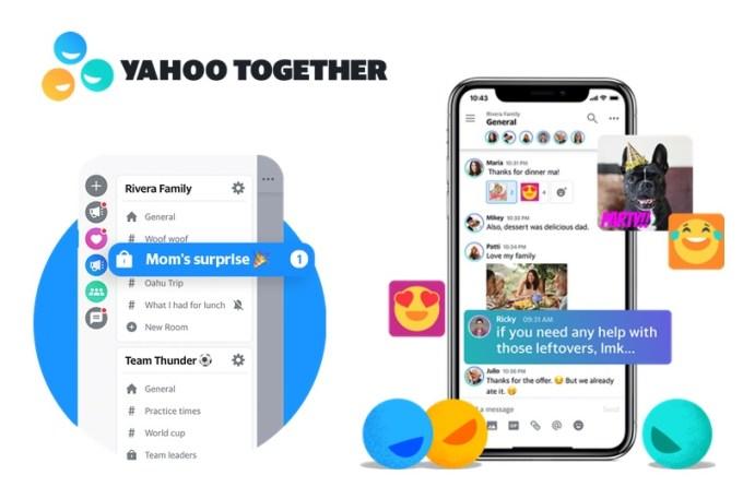 Komunikator mobilny Yahoo Together