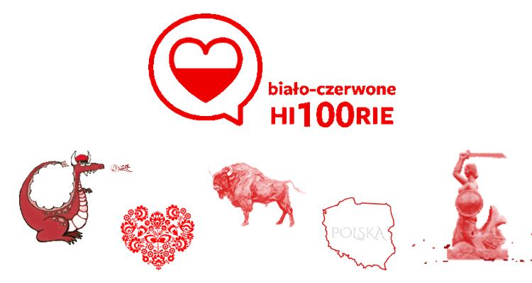 #BiałoCzerwoneHi100rie