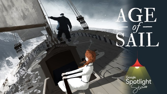 """Age of Sail"" Google Spotlight Stories"