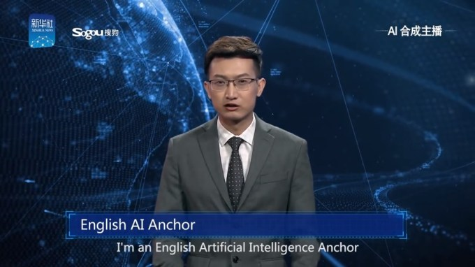 Wirtualny prezenter (AI Anchor) od Xinhua