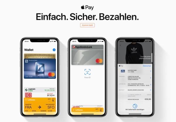 Wkrótce nasi sąsiedzi z Niemiec będą korzystać z Apple Pay
