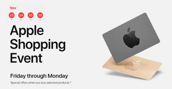 Black Friday w australijskim sklepie internetowym Apple już wystartował