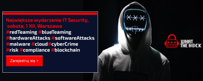 Banner What The Hack - rejestracja