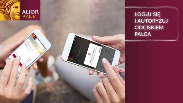 Biometryczna autoryzacja transakcji w Alior Banku i T-Mobile Usługi Bankowe