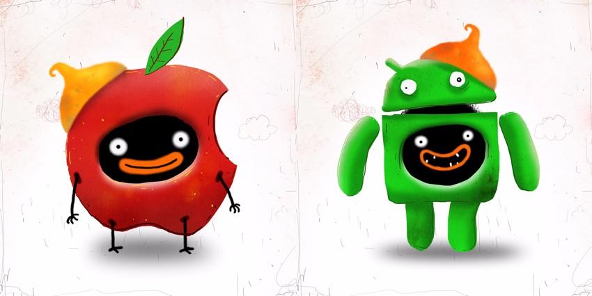 Chuchel na urządzenia mobilne z systemami iOS i Android