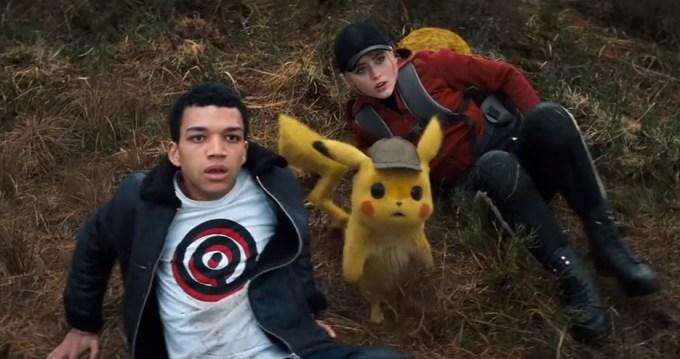 """Kadr z filmu """"Detective Pikachu"""""""