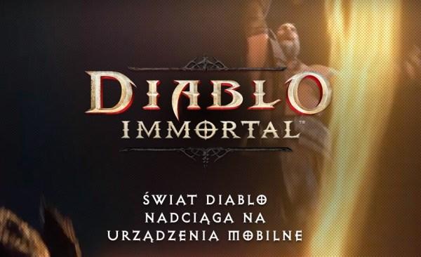 """Blizzard zapowiedział grę mobilną """"Diablo Immortal"""""""