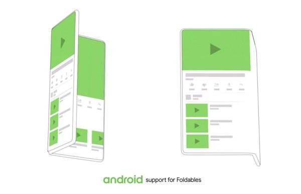 Android Q doda obsługę elastycznych wyświetlaczy flexfonów