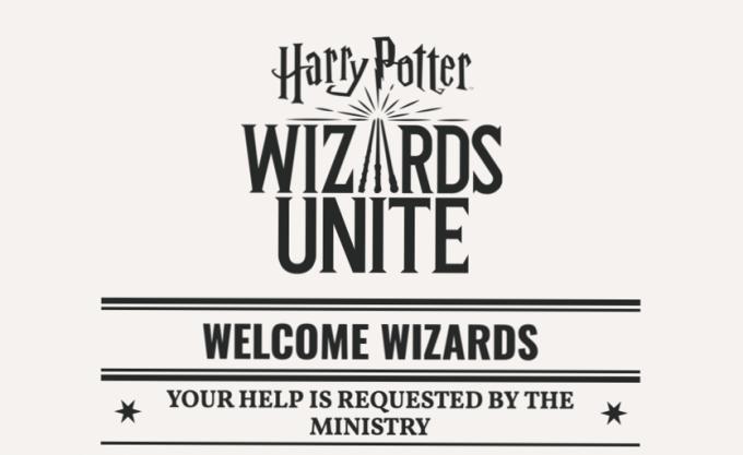 """Gra mobilna """"Harry Potter: Wizards Unite"""""""