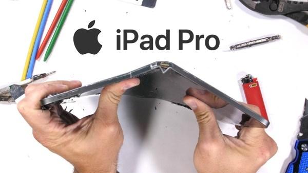 #BendGate2 iPad Pro z 2018 roku bardzo łatwo się zgina…