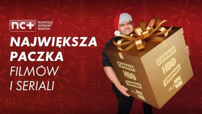 nc+ - największa paczka filmów i seriali na święta - nowa oferta promocyjna (11-12.2018)