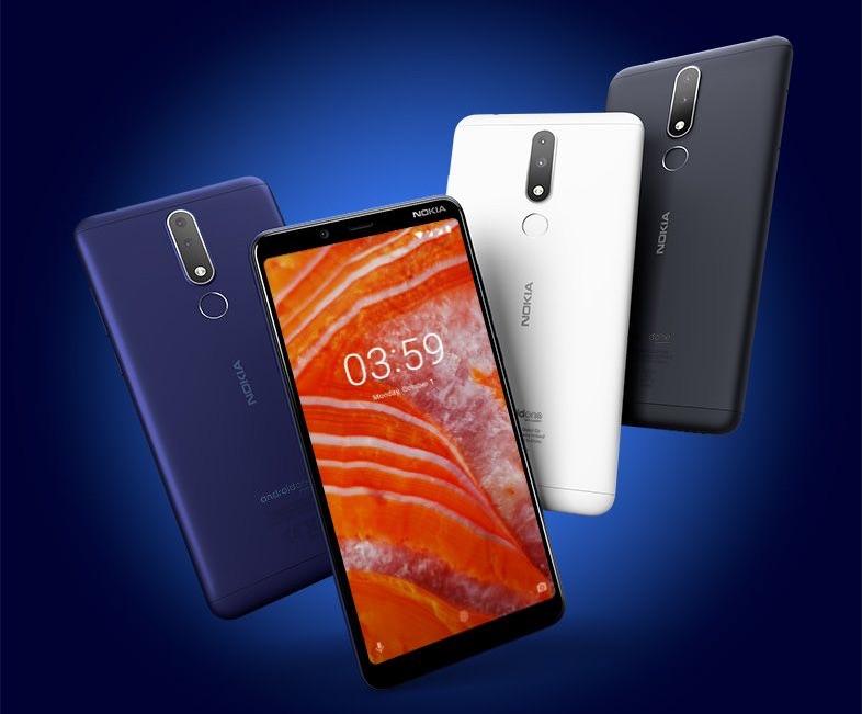 Nokia 3.1 Plus (różne kolory)