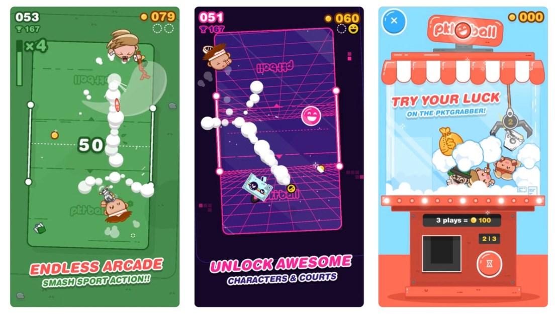 Zrzuty ekranu z gry PKTBALL