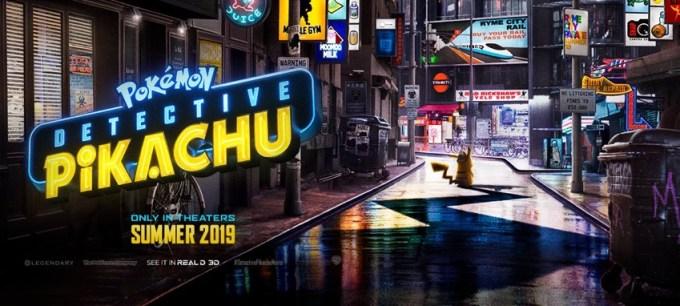 "Zwiastun filmu ""Detective Pikachu"""