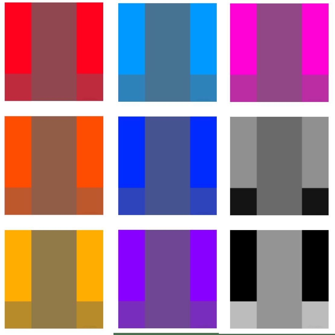 Przykłady tapet, dzięki którym znikają ramki folderów i docka na iPhonie
