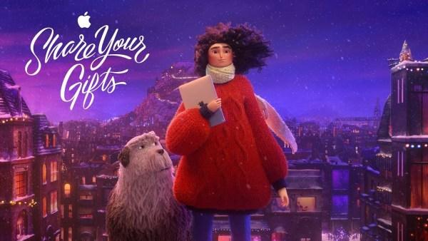 """Świąteczna reklama Apple'a """"Share Your Gifts"""" w formie animacji"""