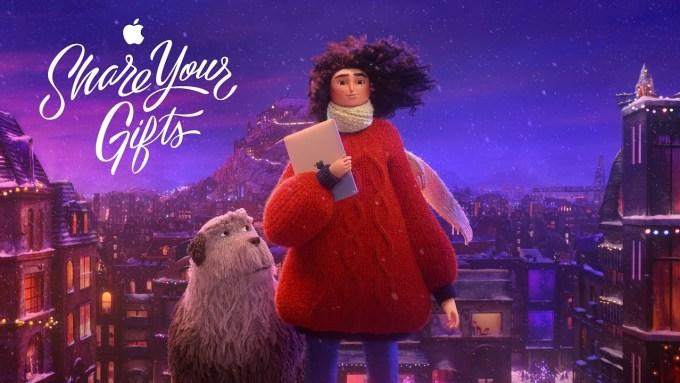 "Świąteczna reklama Apple'a pt. ""Share Your Gifts"" (2018)"