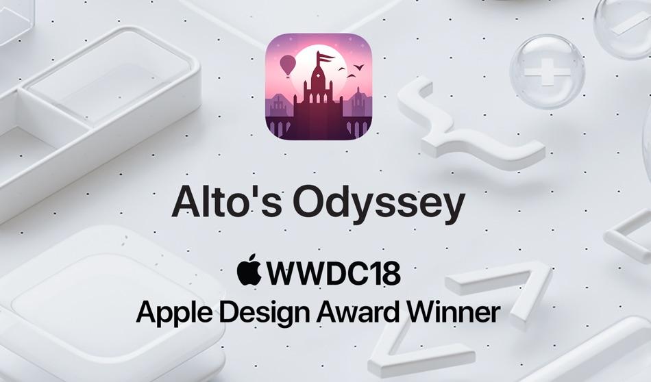 Alto's Odyssey WWDC18 Apple Design Award Winner