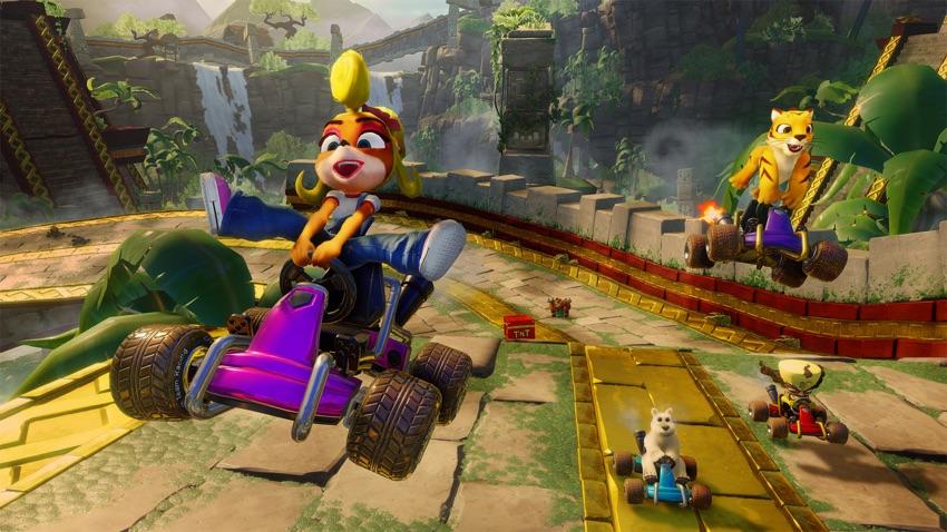 Screen z gry: Crash™ Team Racing Nitro-Fueled
