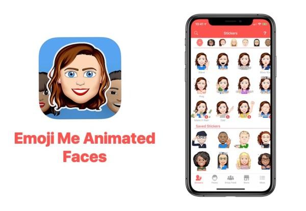 """Stwórz spersonalizowane ikony z """"Emoji Me Face Maker"""""""
