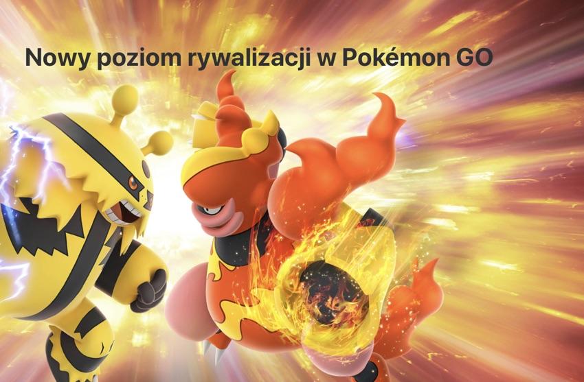 Nowy poziom rywalizacji w grze mobilnej Pokemon GO