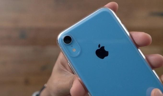 Przezroczyste etui do iPhone'a XR - ochrona tylnej kamery