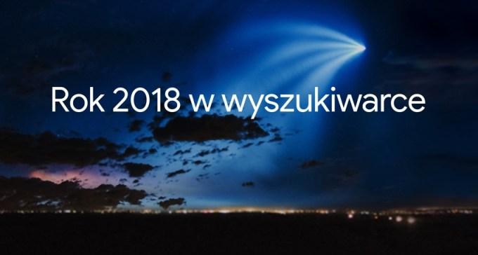 Rok 2018 w wyszukiwarce Google