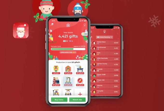 Gra mobilna: Santa Claus - Christmas Tycoon